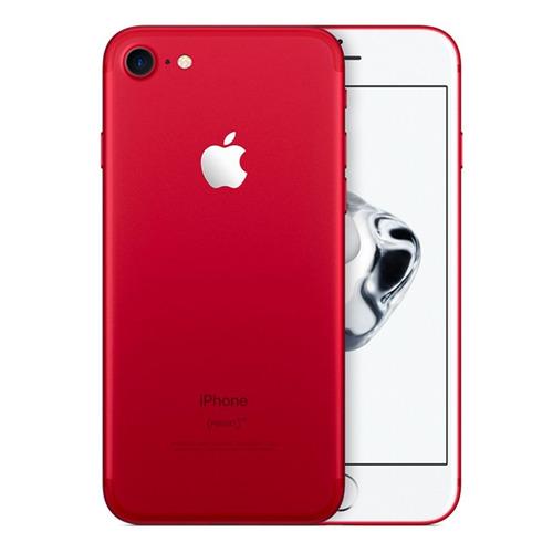 apple iphone 7 128gb edición limitada rojo sellado 4g lte