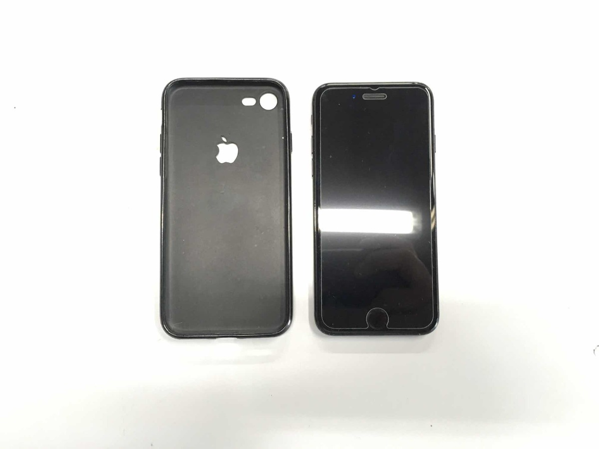 Apple Iphone 7 128gb Jet Black 2 Brindes Capa Pelicula R 2239 Carregando Zoom