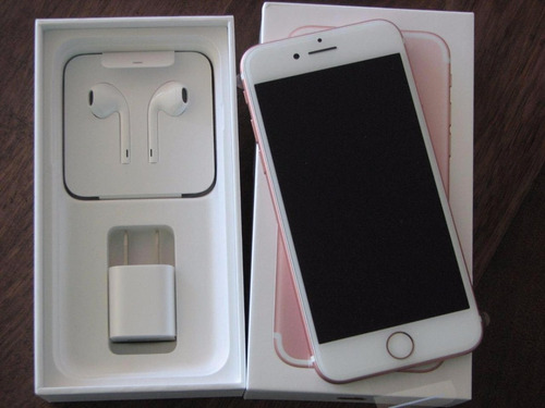 apple iphone 7 128gb oro rosa nuevo