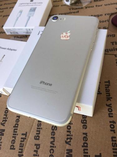 apple iphone 7 32 gb 4k 12 mpx  + combo accesorios