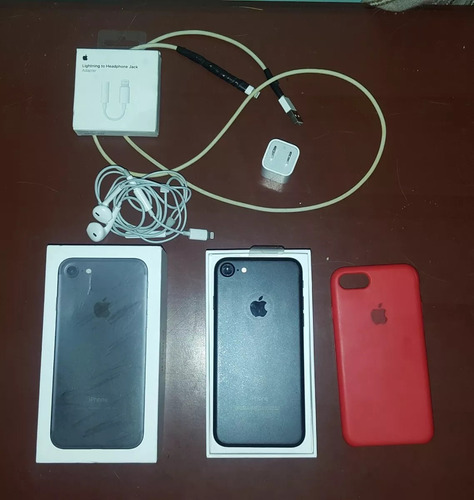 apple iphone 7 32gb con caja y accesorios