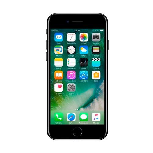 apple iphone 7 4.7in câmera 12mp+7mp ios 10 (bz) dourado 256