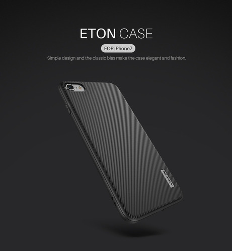 apple iphone 7  - nillkin funda eton pc+tpu color negro