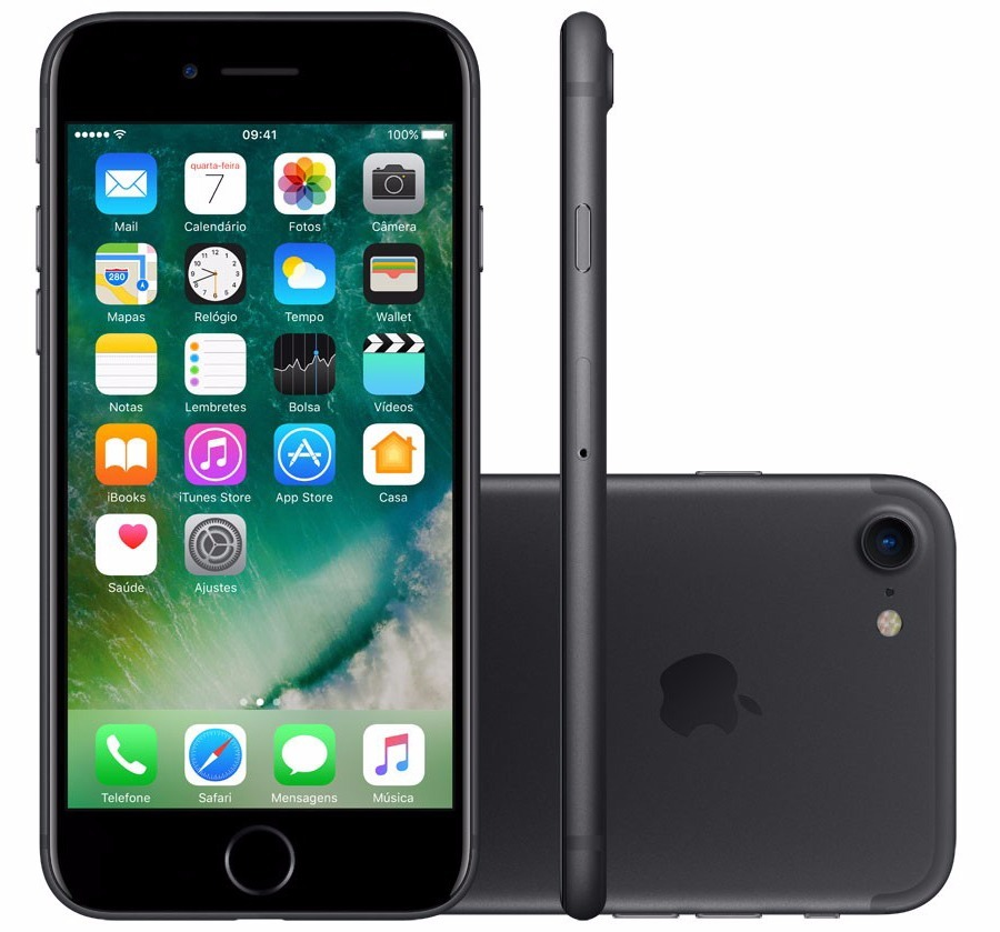 311242461 Apple iPhone 7 Original 32gb 4g Anatel Lacrado + Nota Fiscal - R ...