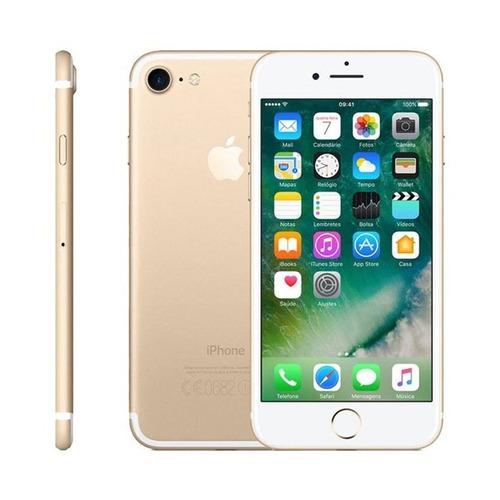 apple iphone 7 original 32gb 4g garantia 1 ano dourado