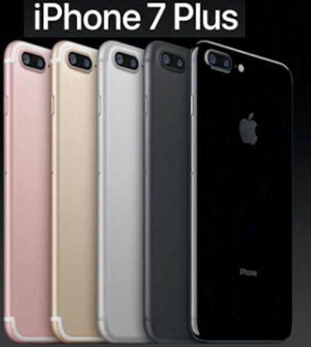 apple iphone 7 plus 128 gb 12mp libres caja sellada 4k 128gb