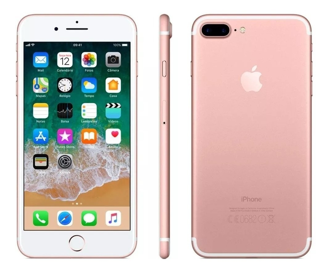 5f266994bef apple iphone 7 plus 128 gb 4k vitrine pronta entrega. Carregando zoom.