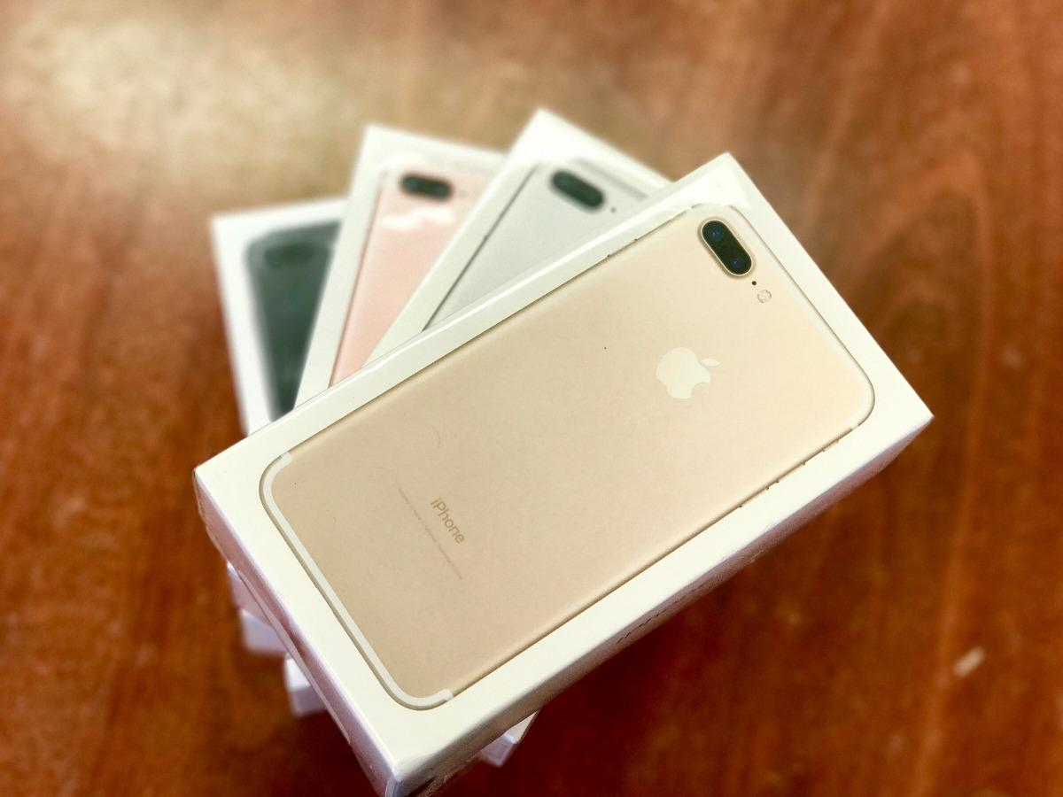 4aa2814f582 Apple iPhone 7 Plus 128gb Nuevos Sellados Davtecno - $ 39.852,00 en ...