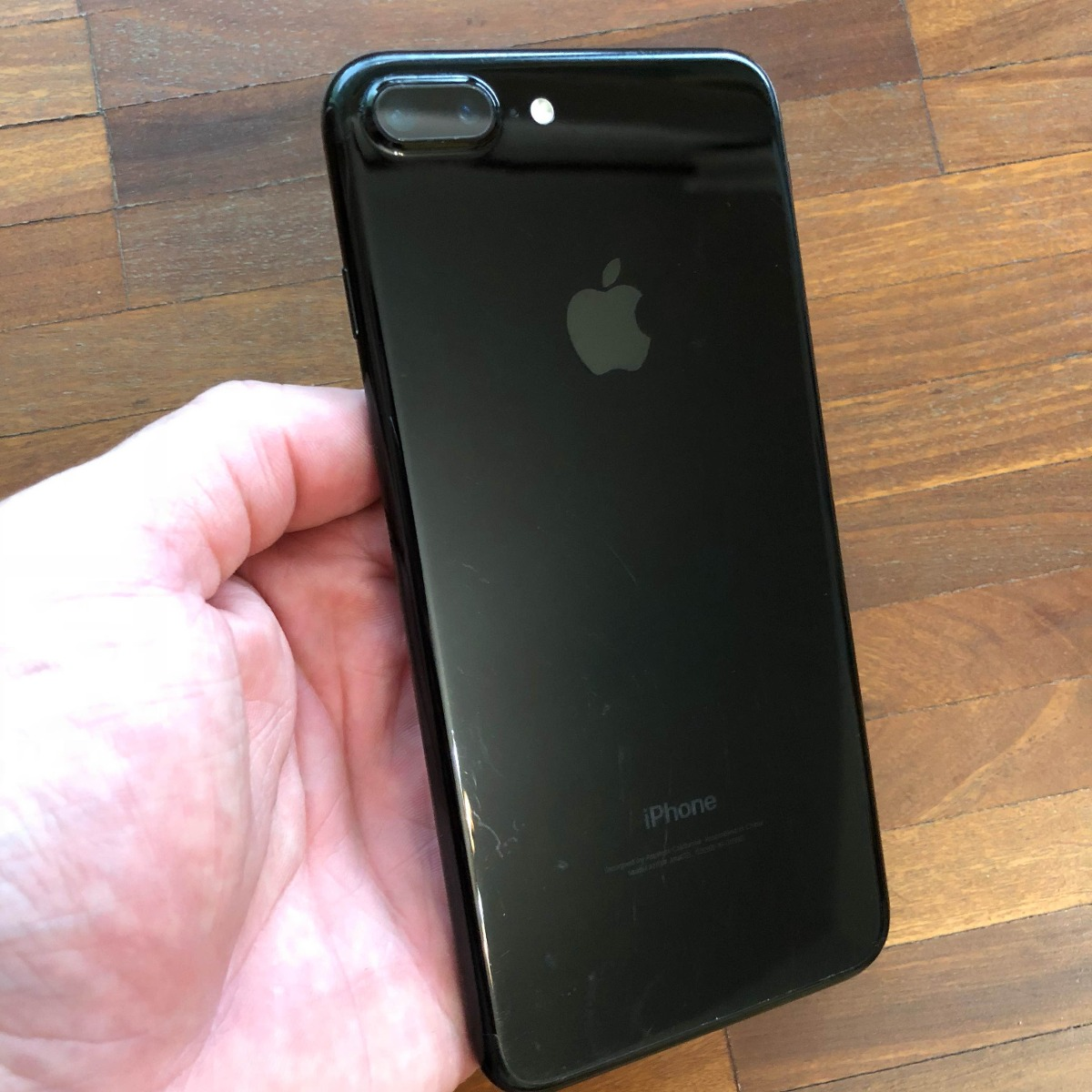 d73199f18 apple iphone 7 plus 128gb preto brilhante semi novo. Carregando zoom.