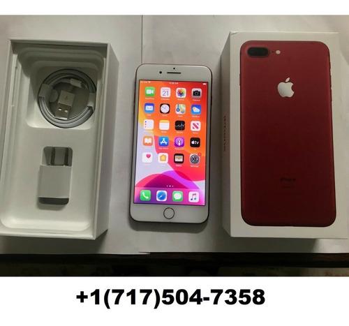 apple iphone 7 plus 128gb rojo + envios gratis