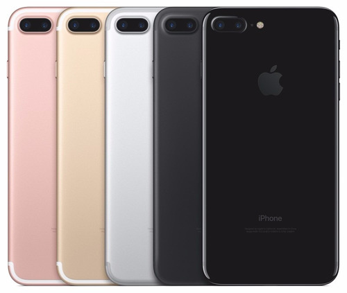 apple iphone 7 plus 256gb lte 4g + film templado de regalo