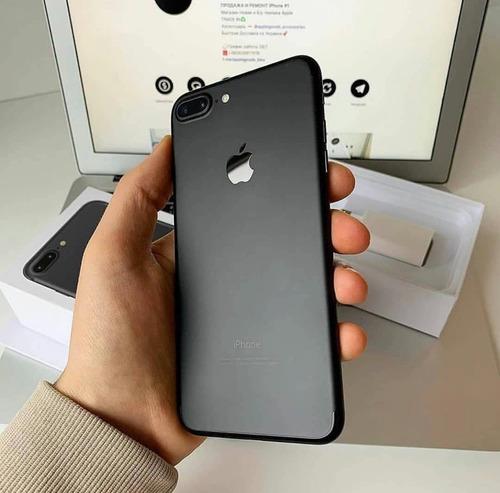 apple iphone 7 plus - 256gb  negro azabache envios!