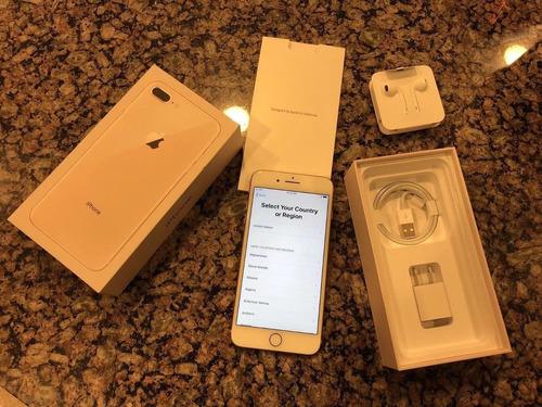 apple iphone 8 plus 256 gb original dorado factura legal new