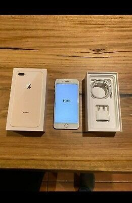 apple iphone 8 plus 256gb - gold (unlocked)