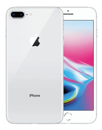 apple iphone 8 plus 64 gb original vitrine + brinde