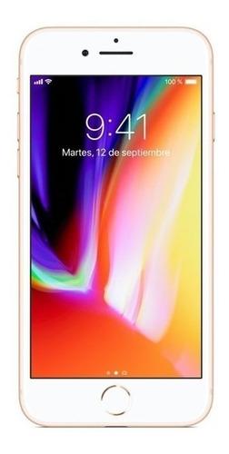 apple iphone 8 plus 64gb dourado seminovo vitrine