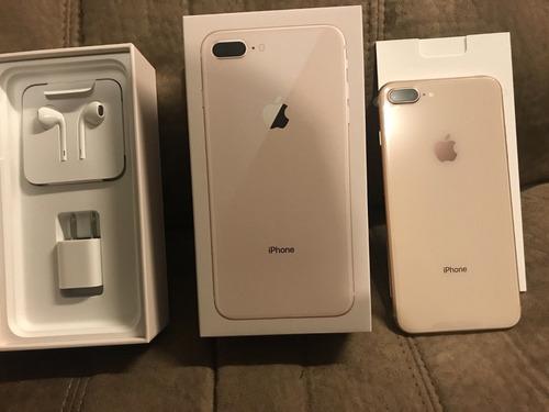 apple iphone 8 plus rojo 256gb desbloqueado de fábrica 100%