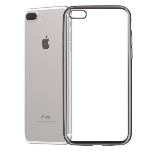 Comprar Funda Gel iPhone 6 / 6S Smoked con borde de color Color Negro