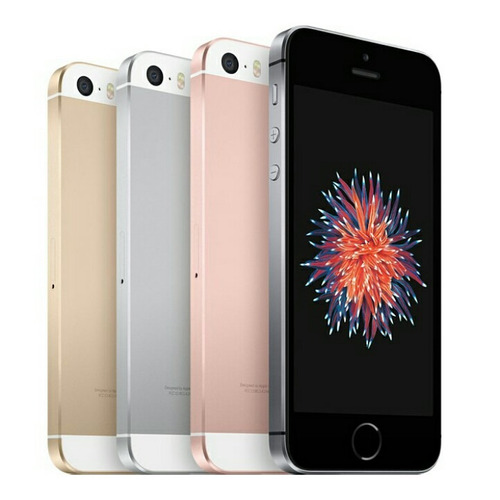 apple iphone se 16gb ios10 nuevos 1 año de garantía