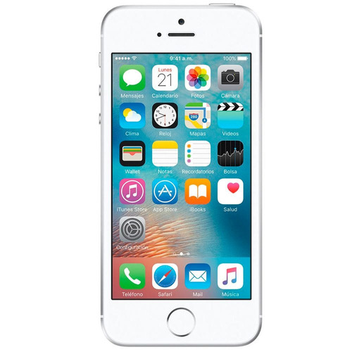 apple iphone se 32 gb - plata apple