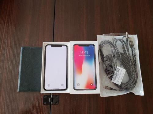 apple iphone x 256gb - gsm y cdma desbloqueados