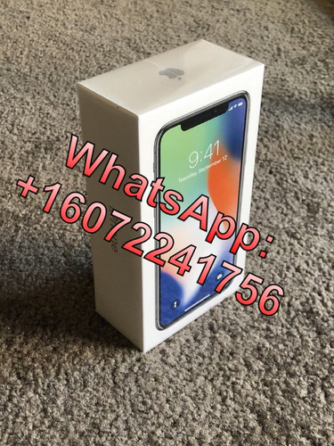 apple iphone x 256gb original nuevo desbloqueado