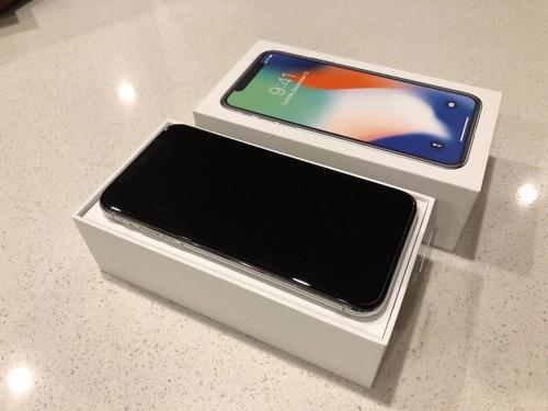 apple iphone x 256gb plata nuevo original