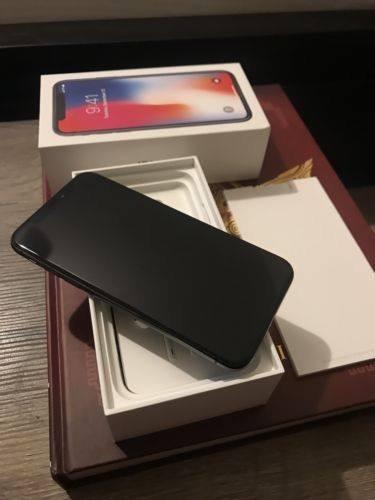 apple iphone x 256gb sealed inbox