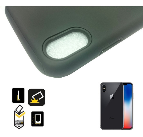 apple iphone x funda protector carcasa hibrida anti golpes