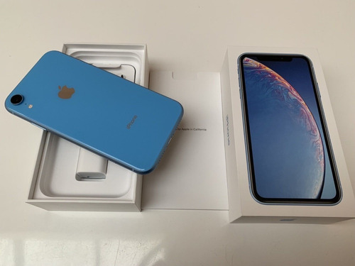apple iphone xr 256gb desbloqueado + nuevo