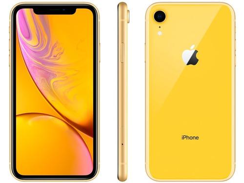 apple iphone xr 64gb desbloqueado ios12 4g