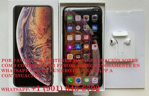 apple iphone xs max - 256gb - oro desbloqueado teléfono