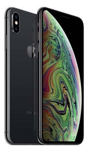 apple iphone xs max 64gb 4g lte banda 28 + lamina y funda