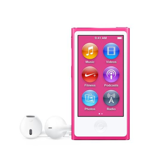 apple ipod nano 16gb 7ma generación con accesorios