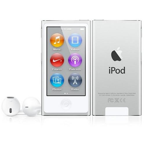 apple ipod nano 16gb 7ma generación con accesorios plata oro