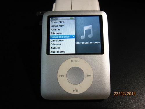 apple ipod nano 3g tercera generacion mp3 walkman player usb