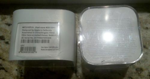 apple  ipod nano 6ta generacion oferta limitada