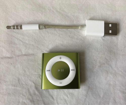apple ipod shuffle 4th generación 2gb verde