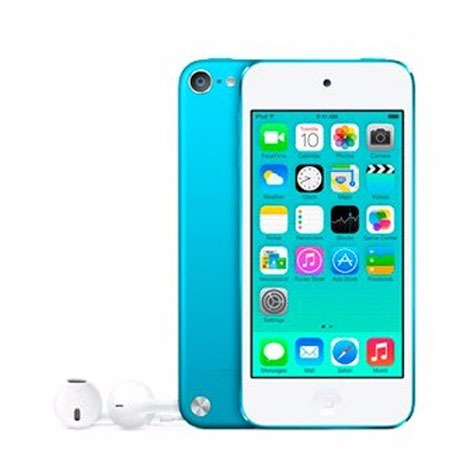 apple  ipod touch 5 ta generación 16 gb azul