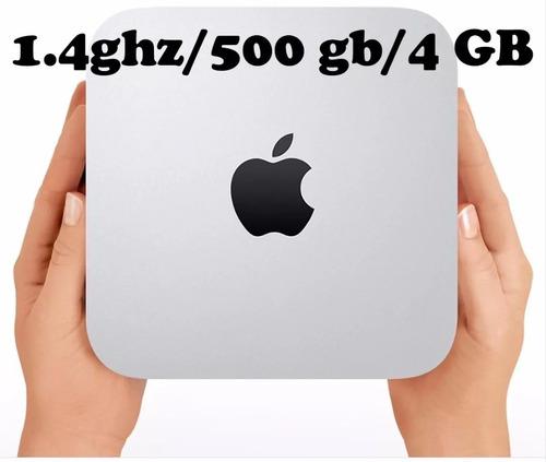 apple mac mini core i5 1.4ghz 500gb hd 4gb mgem2