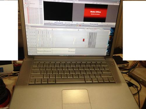 apple mac powerbook g4 & final cuts pro