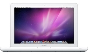 apple macbook 13.3  laptop mc240ll/un intel core 2 duo p745