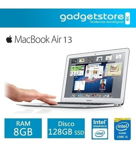 apple macbook air 13 i5 1.8ghz-2.9ghz 128gb 8gb 2017 mqd32ll