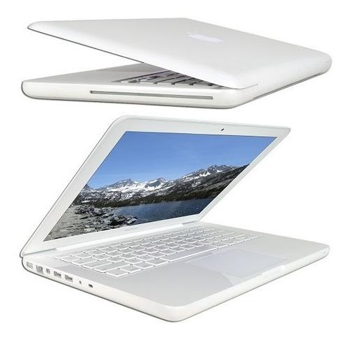 apple macbook core 2 duo p8600 2.4 ghz 2 gb 250 gb dvdrw ge