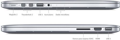 apple® macbook pro® 15.4  med. 2015