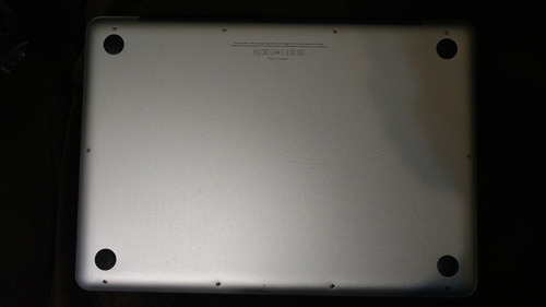 apple macbook pro 2012 - laptop 13.3 in 4gb ram/2.5gh xtreme