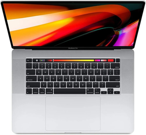 apple macbook pro touch bar silver 2019 15 laptop 512gb 16g
