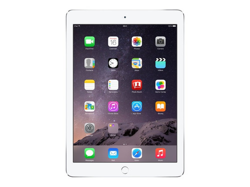 apple mglw2ll/a ipad pantalla retina 97 pulgadas air -plata