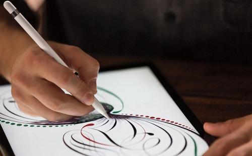 apple pencil caneta apple p/ ipad pro lacrada100% original
