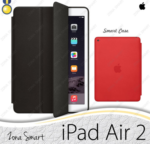 apple smart case ipad air 2 - case cuero cover elegante